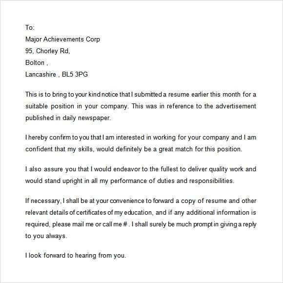 follow letter after meeting   sampleletter dyndns org how - sending an email with resume