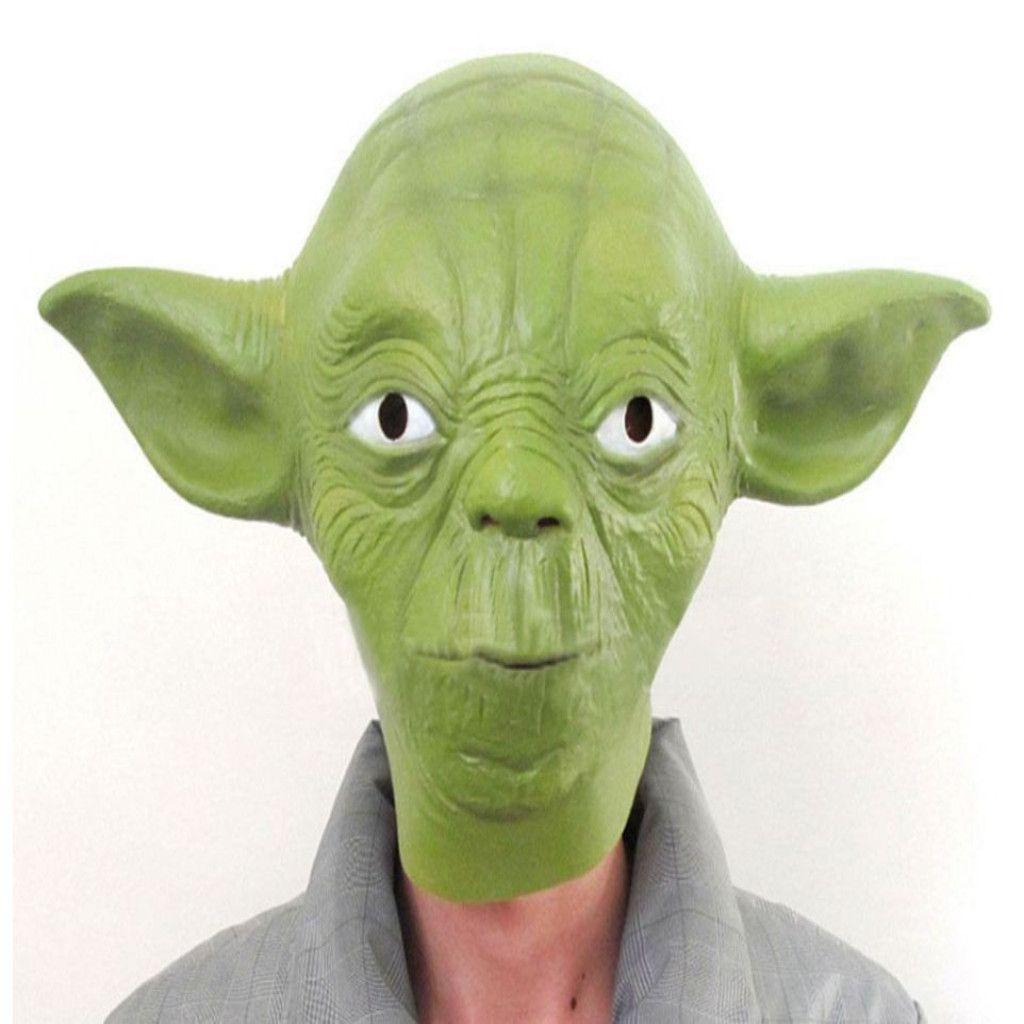 Star Wars Yoda Halloween Costume Overhead For Adult