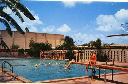 Jacob Brown swimming pool