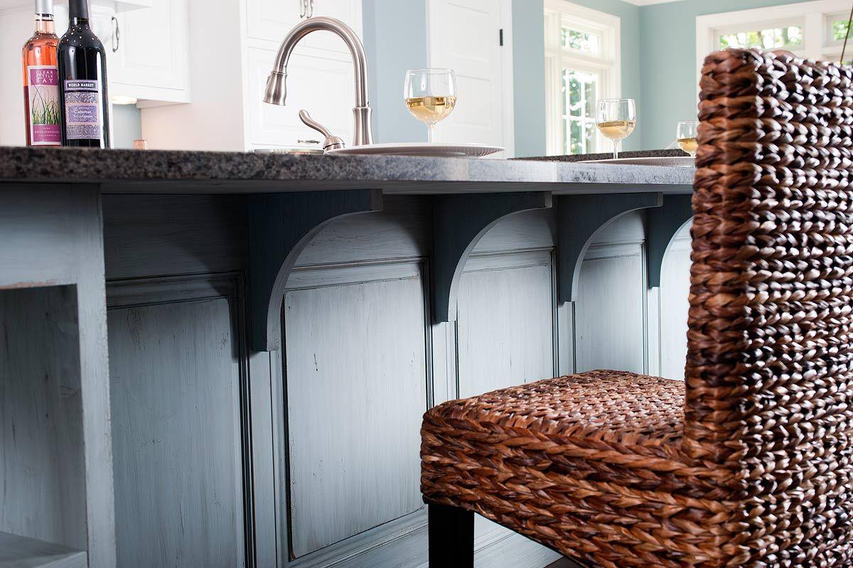 Wood Corbels For Granite Countertops | Kitchen Breakfast Bar Brackets For  Mounting Breakfast Bar On