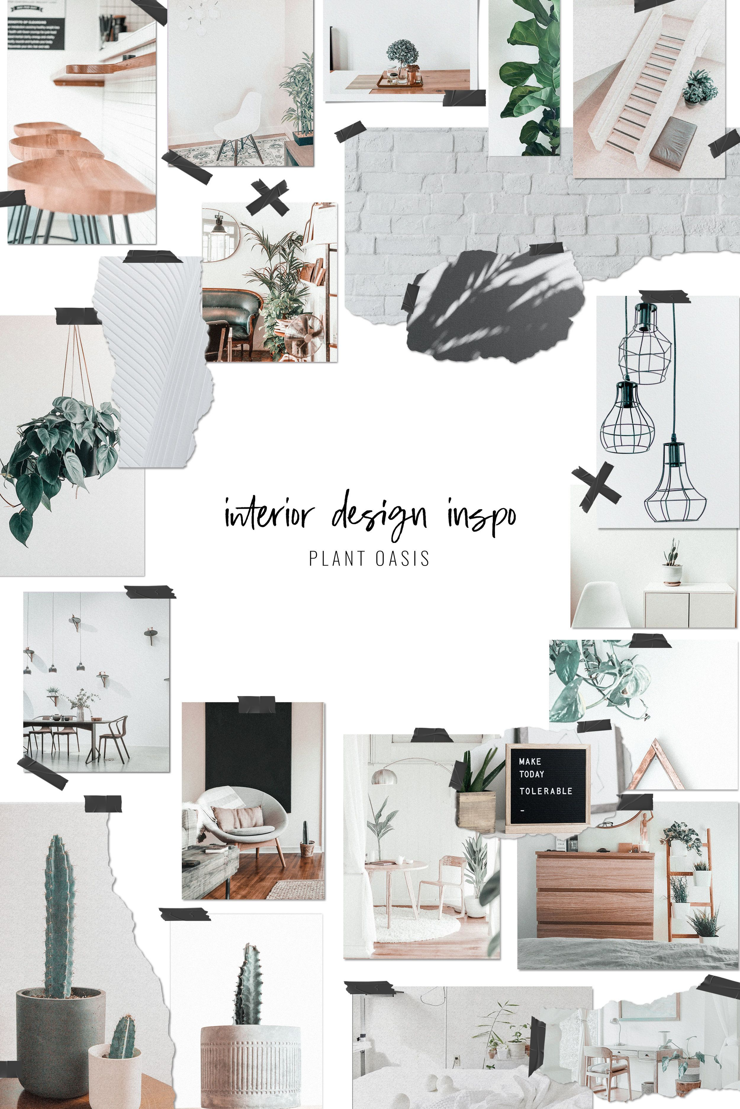Mood Board Template With Images Mood Board Mood Board Design
