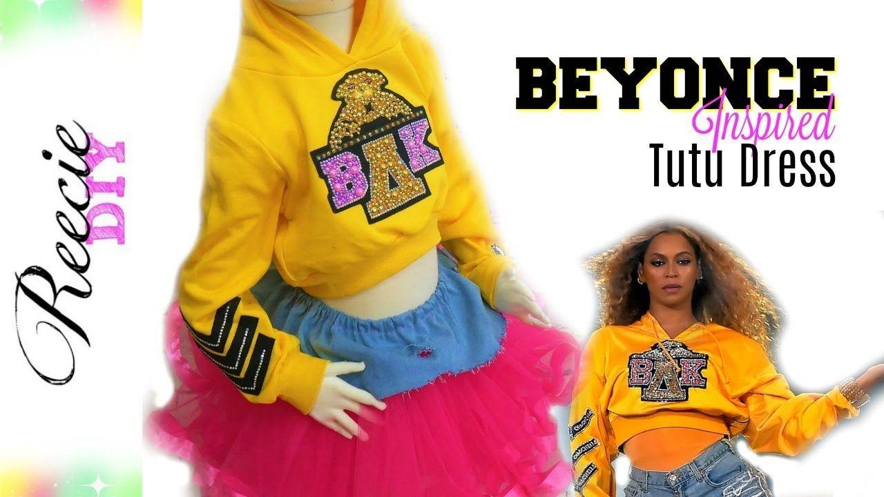 Beyonce Halloween 2020 D.I.Y. Beyonce Coachella Inspired Tutu Dress   Diy tutu dress