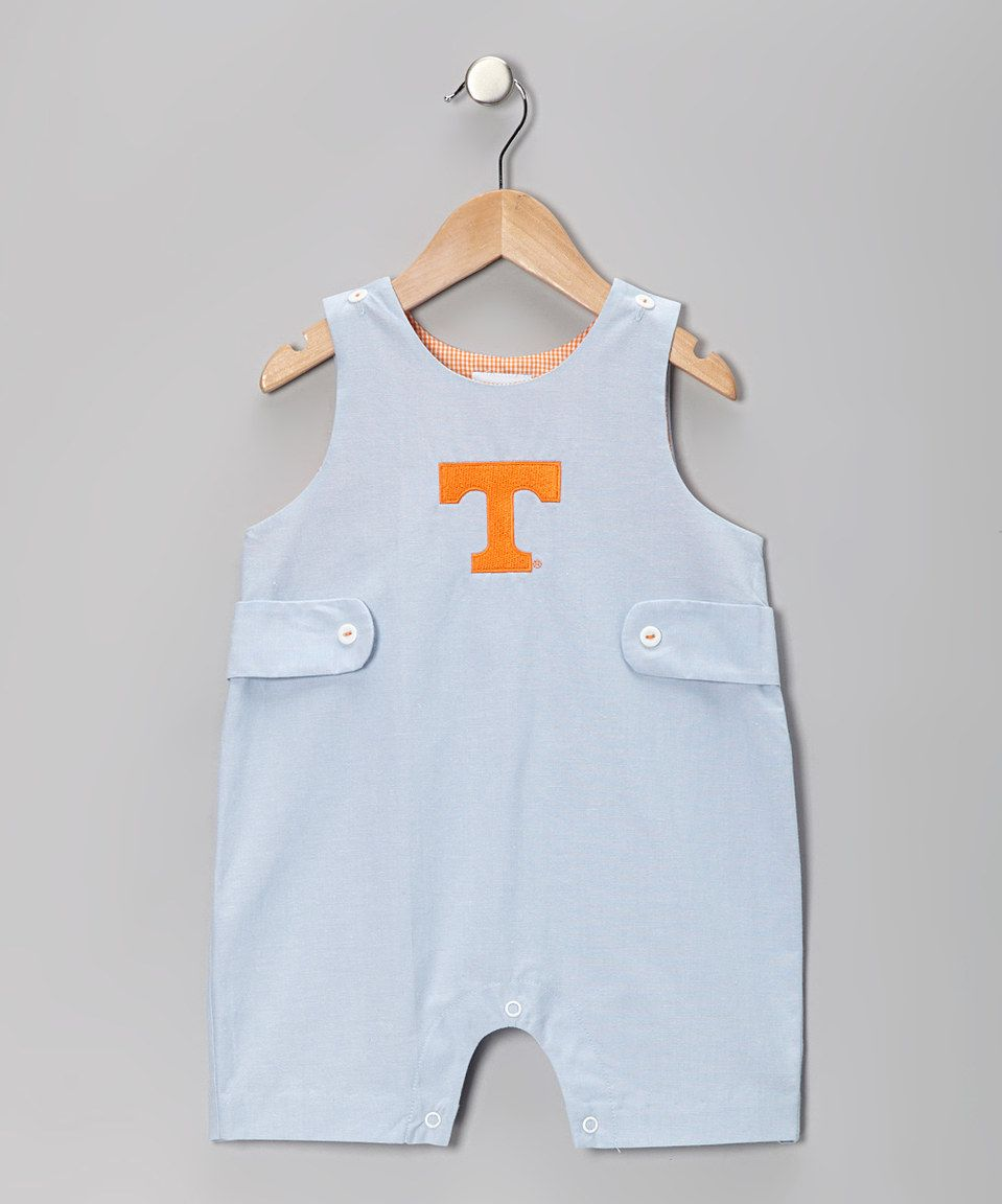 Love this Blue University of Tennessee Shortalls - Infant & Toddler by Vive La Fête on #zulily! #zulilyfinds