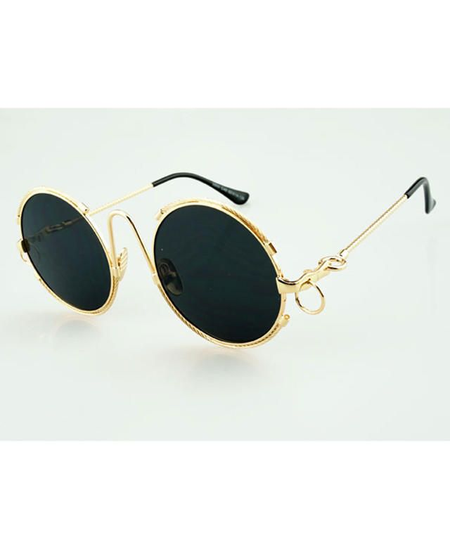Reflective Round Sunglasses from CYPRESS. Saved to Cruise. #rrg. Shop more products from CYPRESS on Wanelo.
