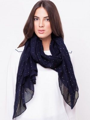 48299b6129d2f FOREVER NEW Diamante Scarf buy from koovs.com | scarves for women ...