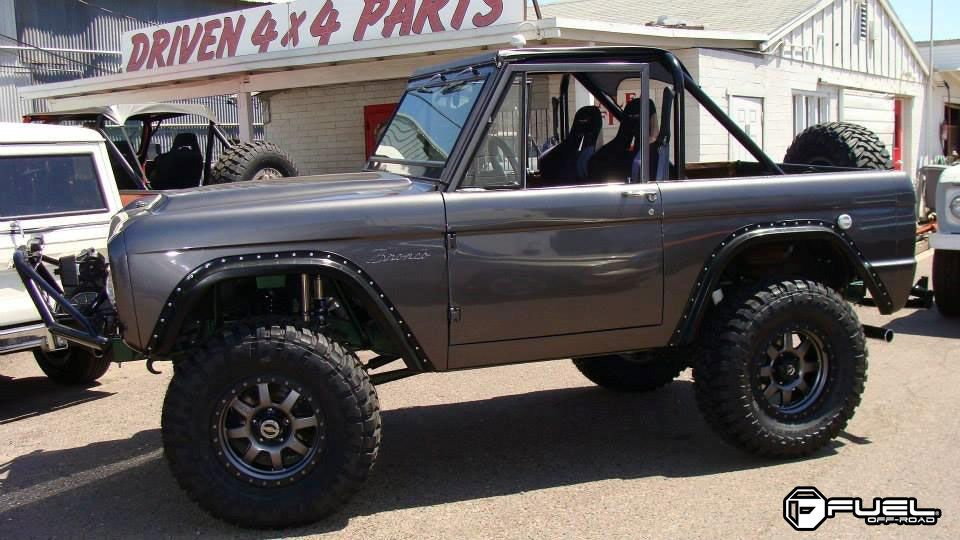 Ford Bronco With Fuel 1 Piece Wheels Trophy D552 Ford Bronco Classic Bronco Bronco