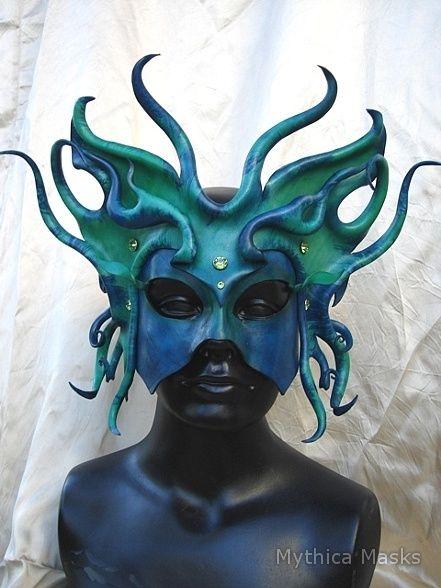 5fffb9090441 Sea Spirit Mask by Mythica Masks Venetian Masquerade, Masquerade Party,  Venetian Masks, Masquerade