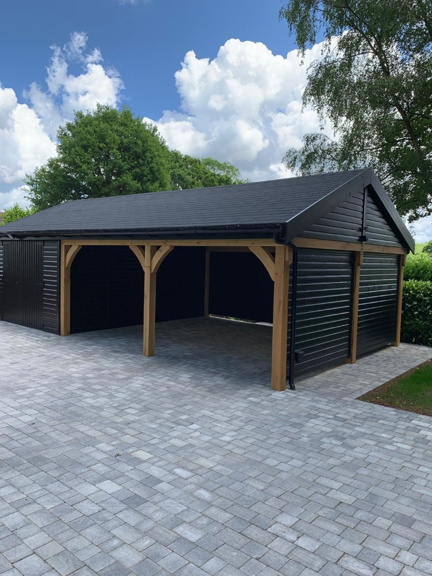 Carport Garage Uk Planning Permission Building Regulations 2019 In 2020 Building A Carport Diy Carport Carport Garage