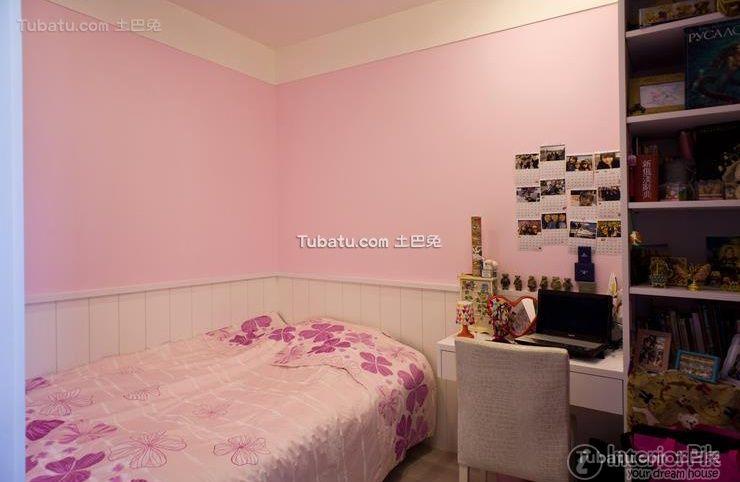 Decorate pink children's room 2016