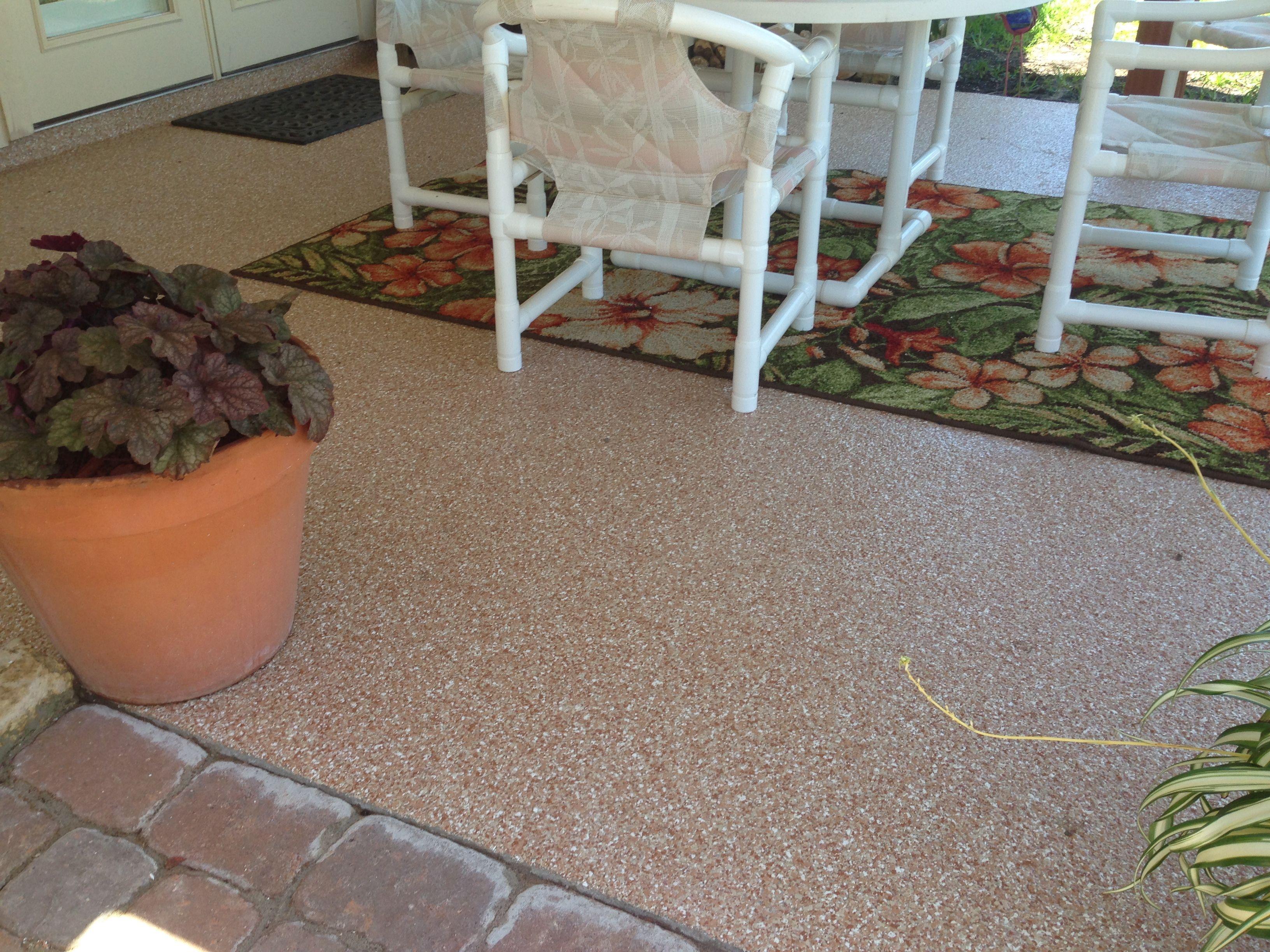 epoxy flooring with 100 flake floor
