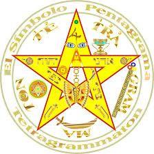 Afbeeldingsresultaat Voor Estrella De 5 Puntas Tatuaje Símbolos Místicos Tetragramaton Sello De Salomon