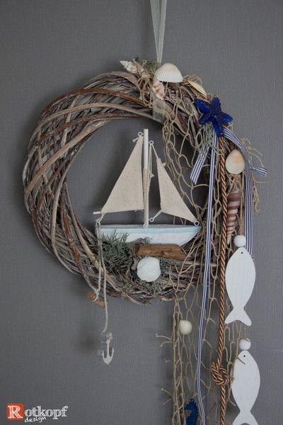 t rkr nze t rkranz sommer maritim 5 ein designerst ck von rotkopf design bei dawanda xx. Black Bedroom Furniture Sets. Home Design Ideas