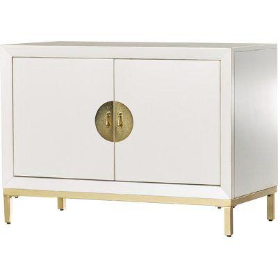 Willa Arlo Interiors Marlette 2 Door Cabinet U0026 Reviews | Wayfair