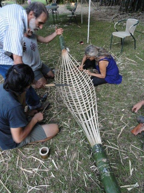 making bamboo hammock making bamboo hammock   bamboo   pinterest   tea pots and doors  rh   pinterest