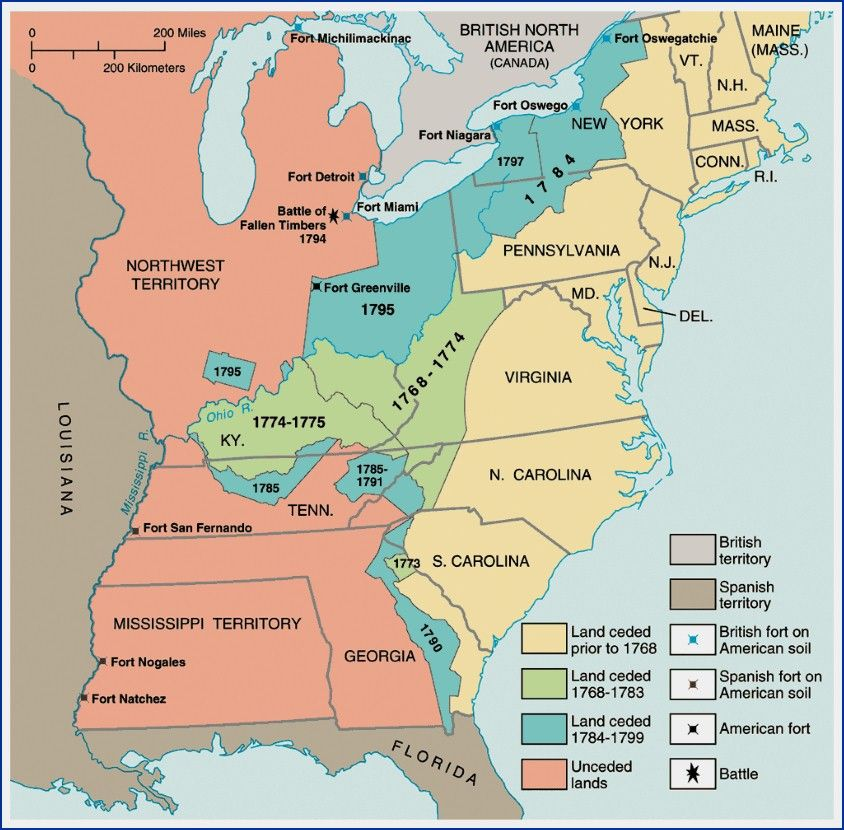 Indian Land Grab My Museum Pinterest Critical - Map of us after revolutionary war