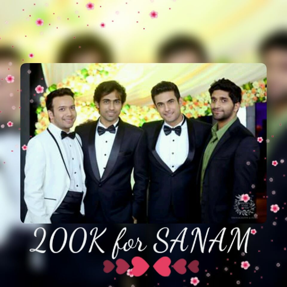 ❤❤ 200K for SANAM fb page :)   https://www.facebook.com/sanamofficialmusic ❤❤