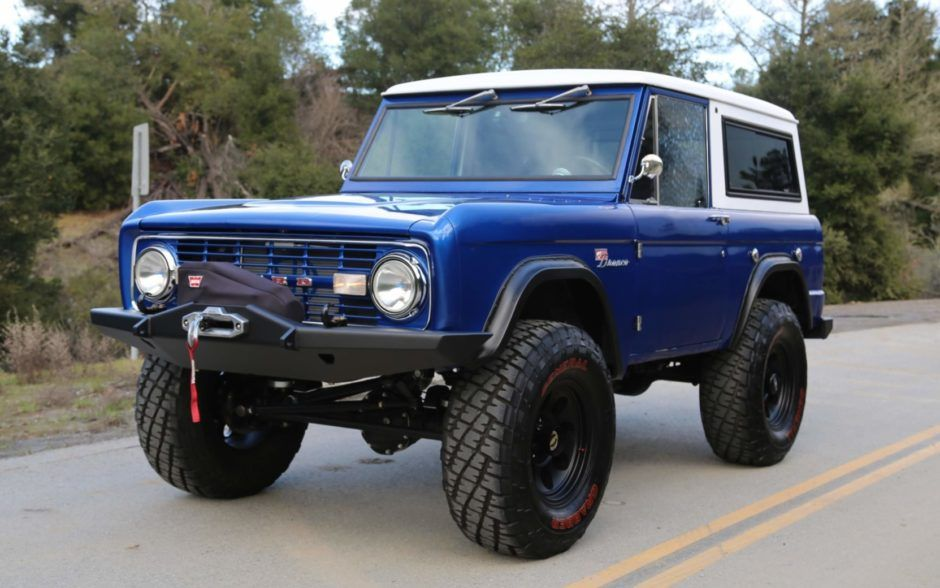 Modified 1970 Ford Bronco Ford Bronco Bronco Ford Suv