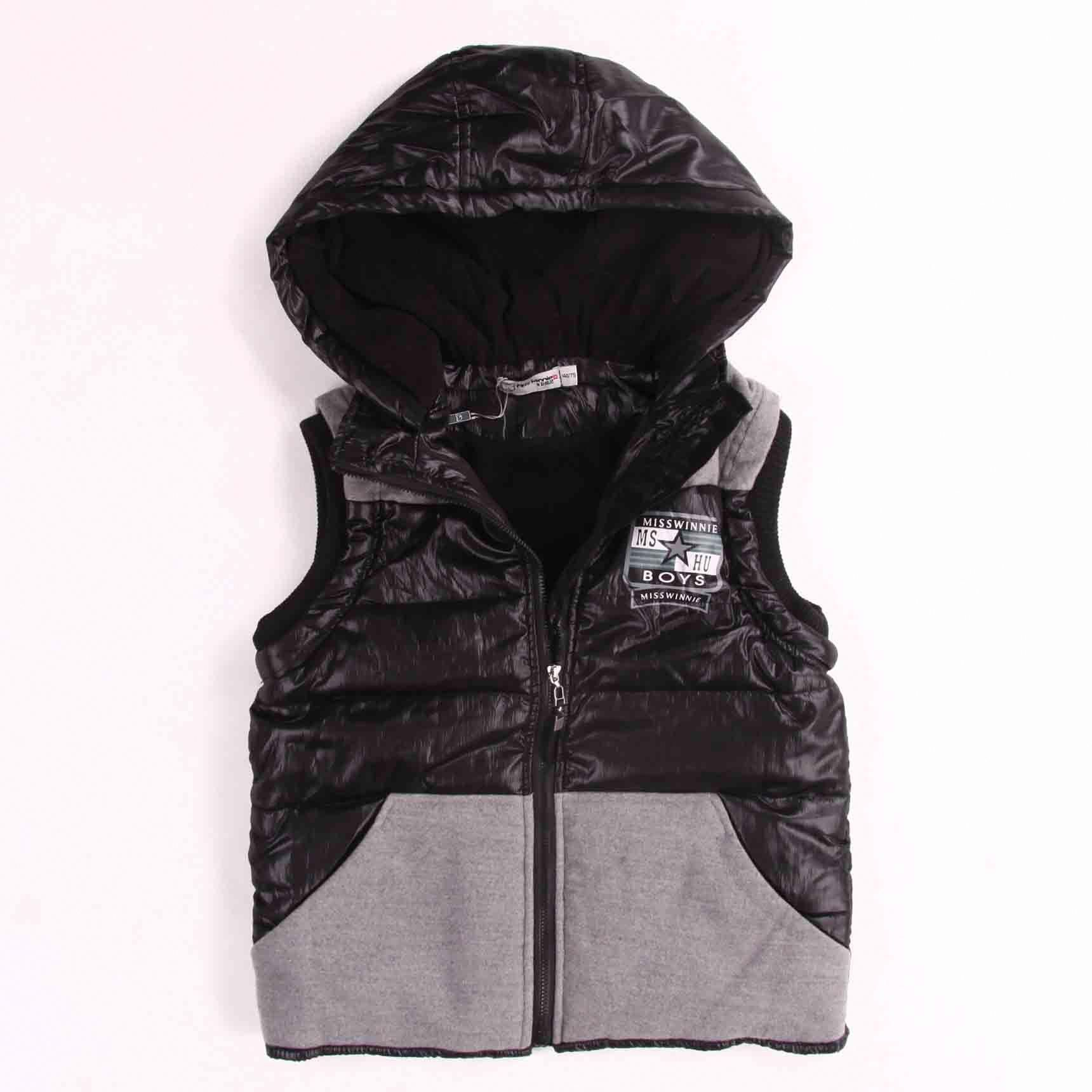 High quality wholesale puffy hooded boys vests from China kids clothes  supplier.  KidsClothingSizeChart 2993fd654