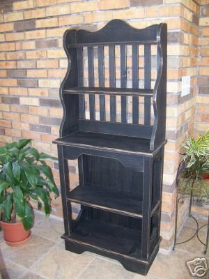 Wooden Baker S Rack Pattern And Instructions U Build Bakers Rack