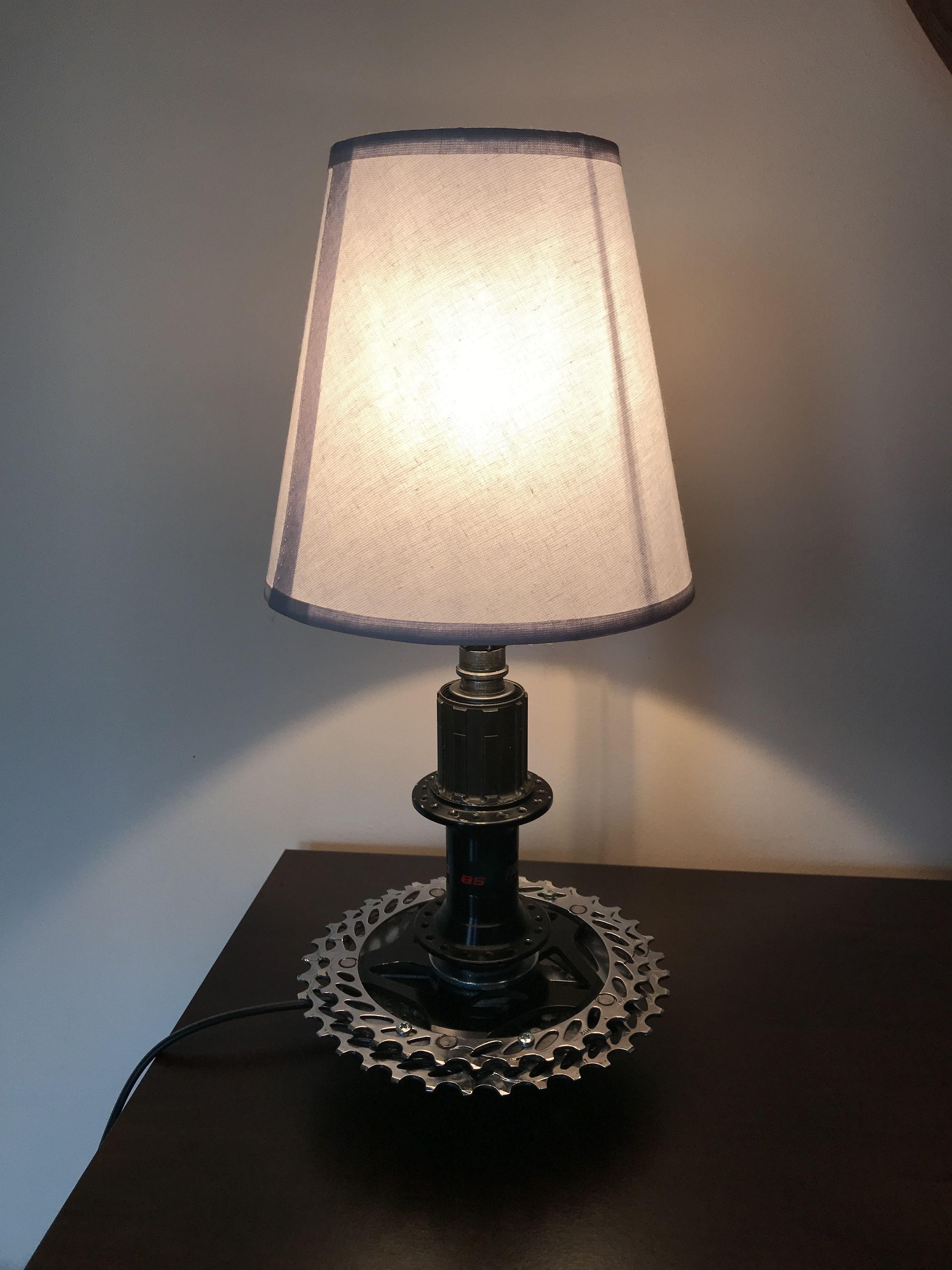 Table Lamp Lantern Bike Gear Lantern Lamp Vintage Lamp Etsy In 2020 Table Lamp Lamp Vintage Lamps