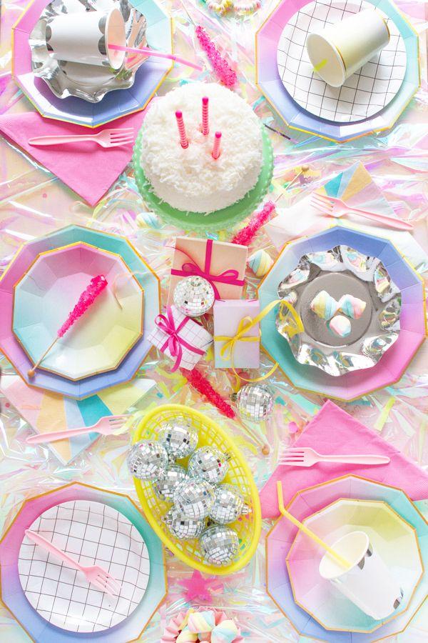 Party Idea Unicorns Rainbow Unicorn Party Pastel Party Unicorn Party