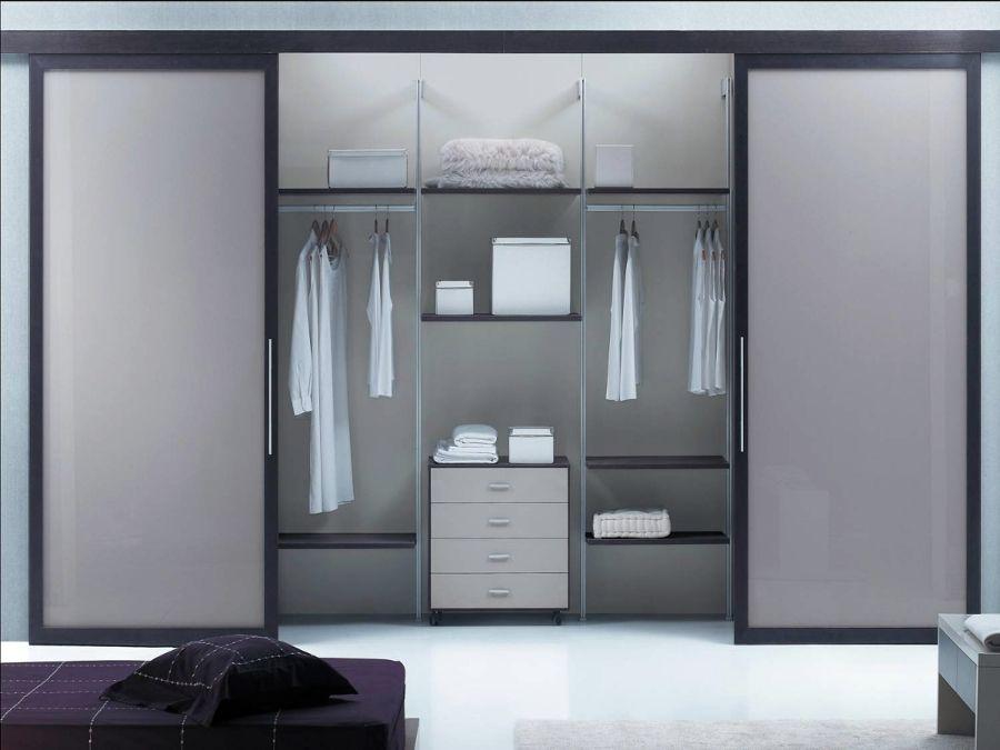 Puertas correderas sin guia inferior casa en 2019 armario vestidor vestidor y armario moderno - Armario sin puertas ...