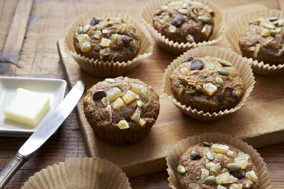 Triple Ginger Double Pumpkin Muffins - Recipes - Whole Foods Market Cooking Raleigh