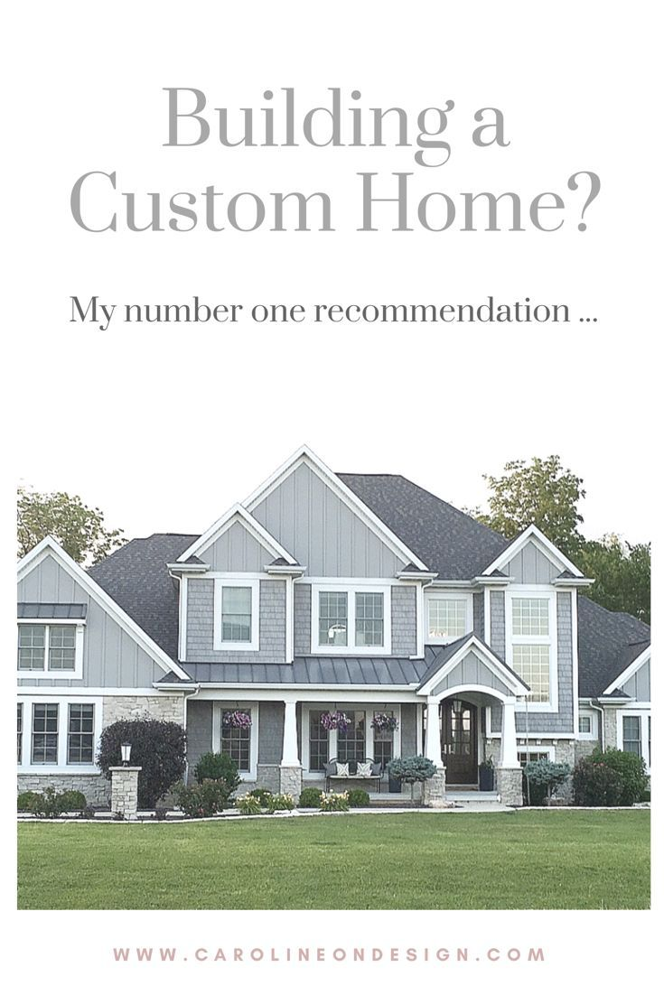 My top piece of advice after creating my own custom home. Building a ...
