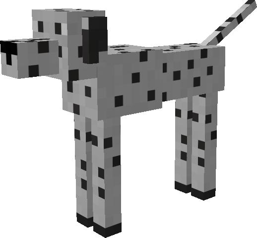 Dalmatian Mod - Mobs - Minecraft Mods - Curse | animais