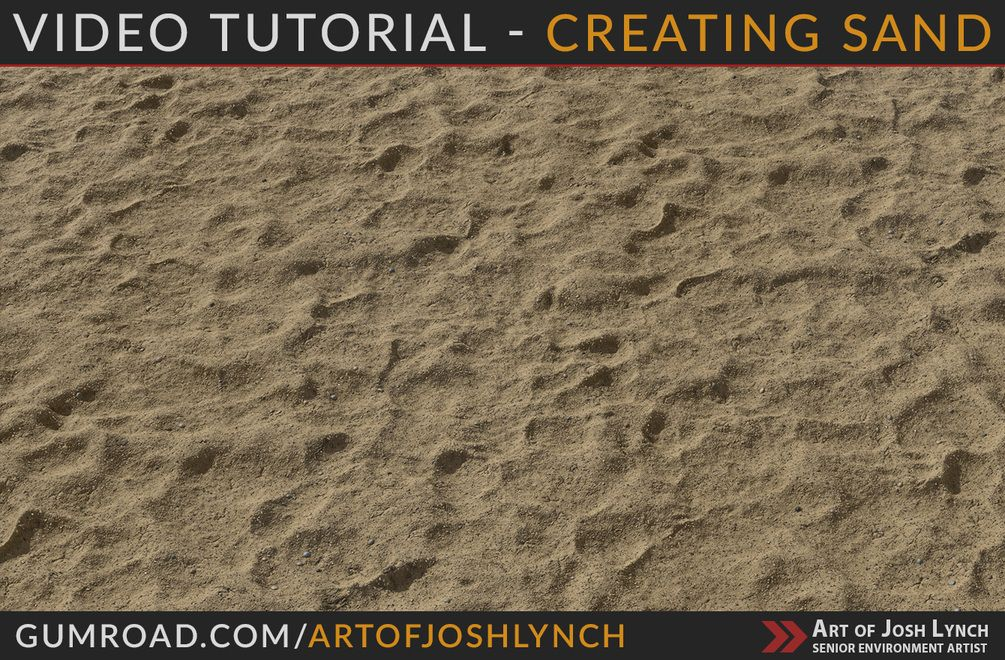 Video Tutorial - Substance Designer Sand in 2019 | FreeD | Substance