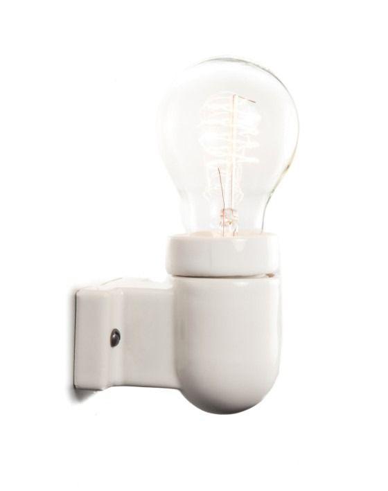 Ceramic Industrial Wall Light Right Angled Ceramic Wall Lights Industrial Wall Lights Wall Lights