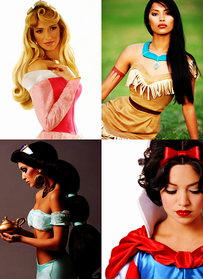 <3 Disney Princesses!