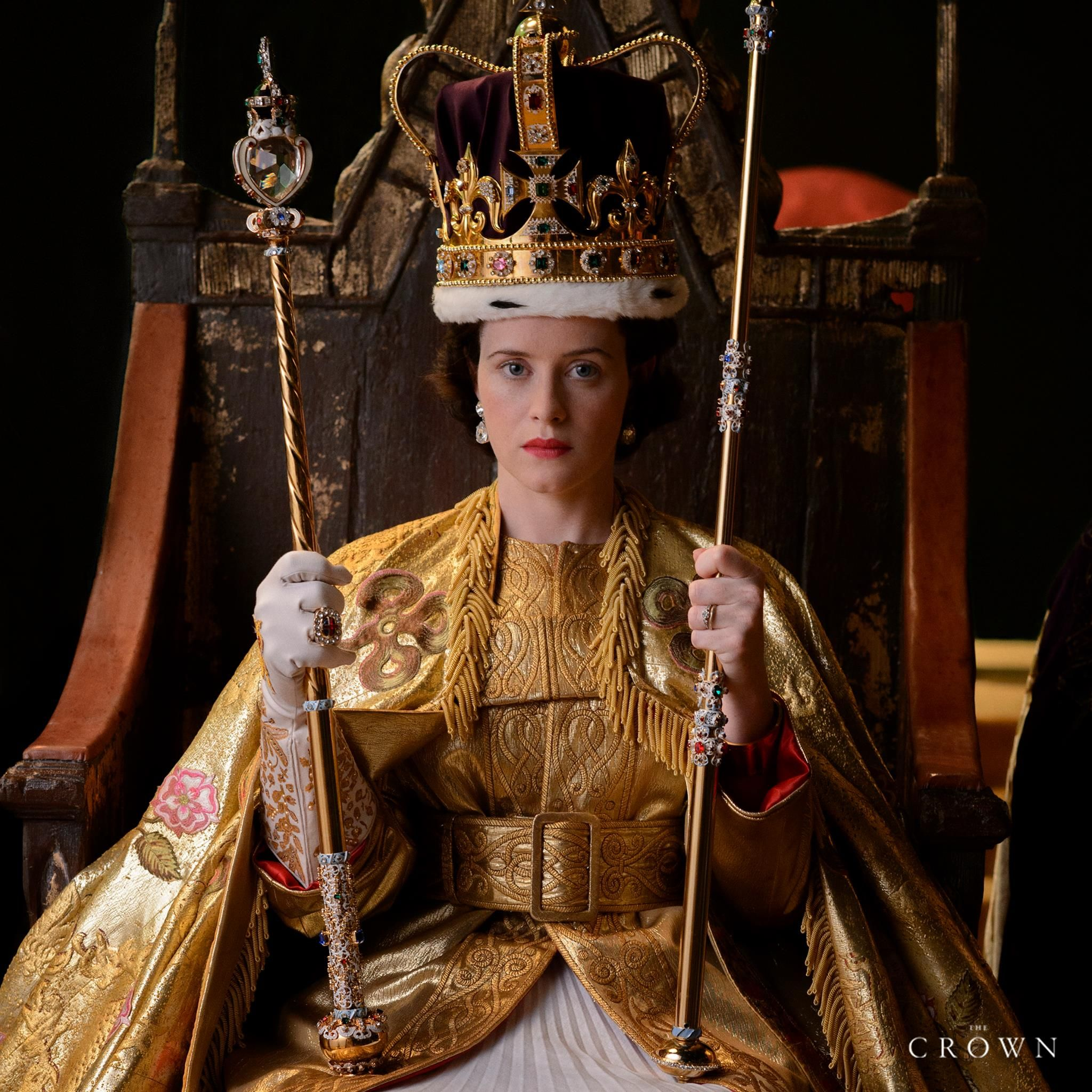 """I'm watching """"The Crown"""" on Netflix, the story of Queen"""