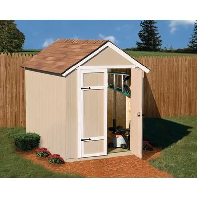 Handy Home Products   Sherwood 6 Ft. X 8 Ft. Garden Shed   18360 7   Home  Depot Canada Sale $699