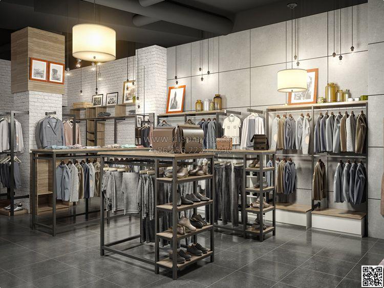 RSD097 Retail modern retail store layout design