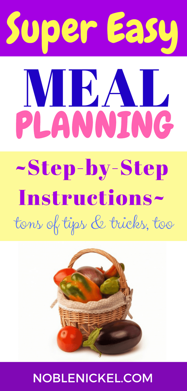 Meal Planning For Beginners images