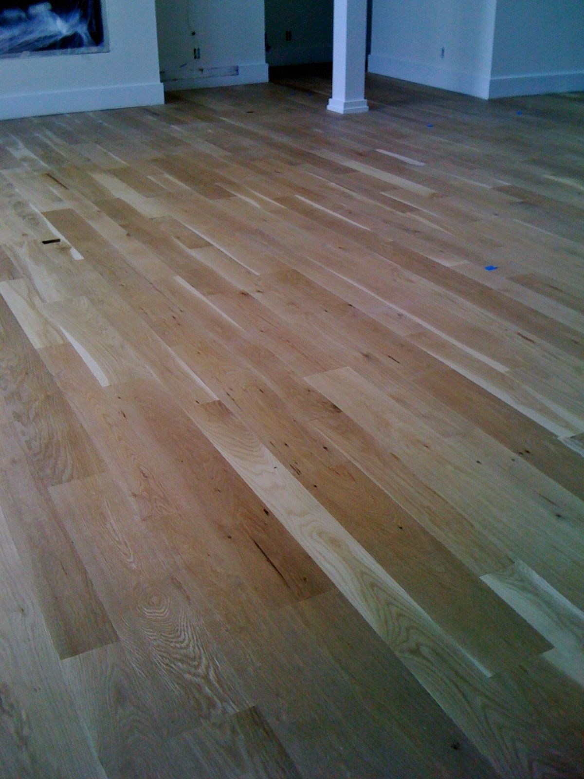 White Oak Floors With 3 Coats Of Bona Naturale Water Based Finish