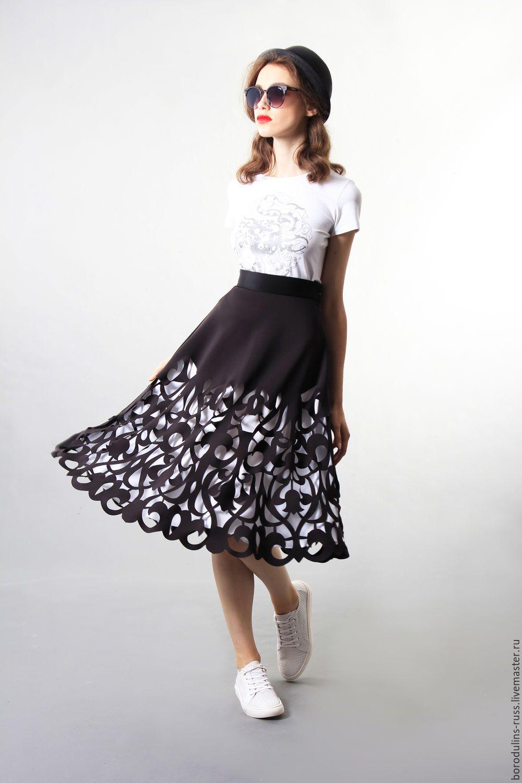 Купить юбку ришелье