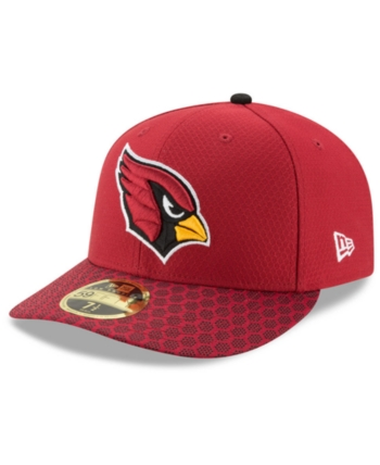 1f3ea8719 New Era Arizona Cardinals Sideline Low Profile 59FIFTY Fitted Cap - Red 6  7/8