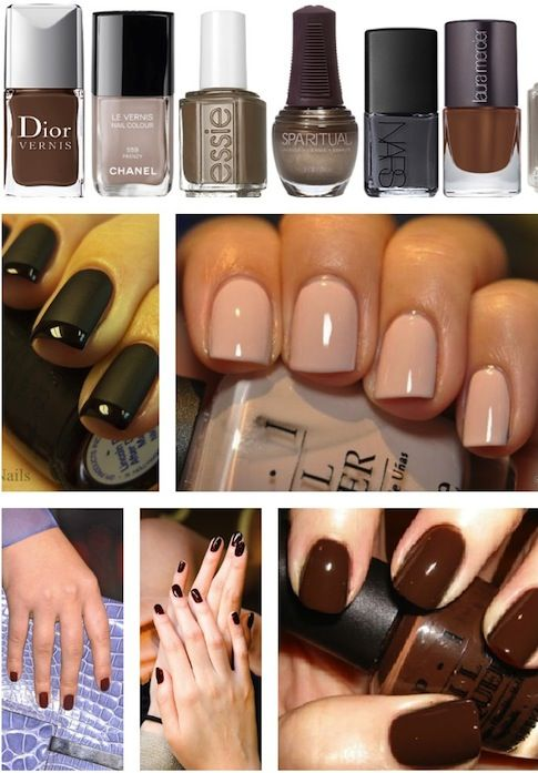 Love the matte black with the shiny black tips! | Beauty | Pinterest ...