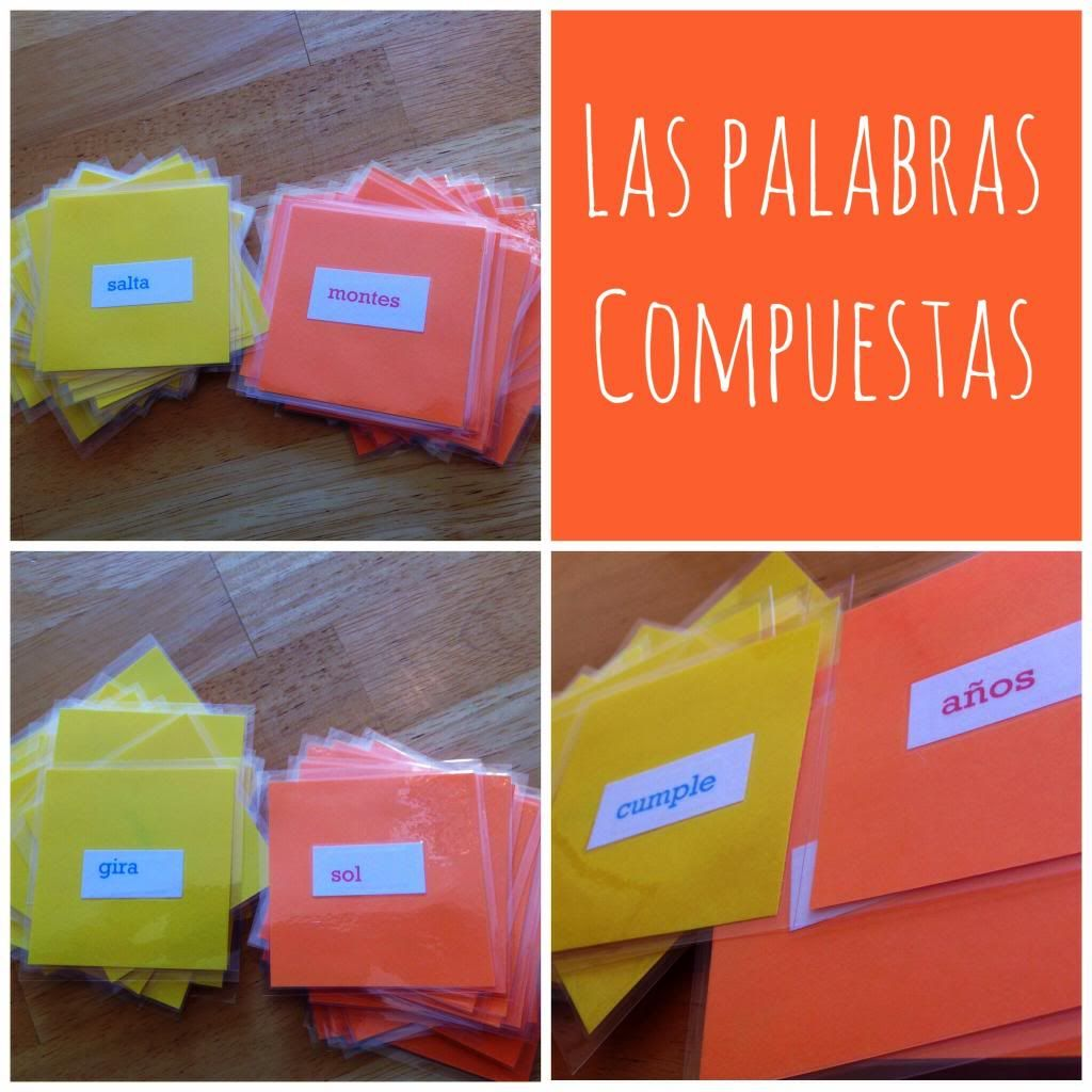 Teaching Compound Words Games