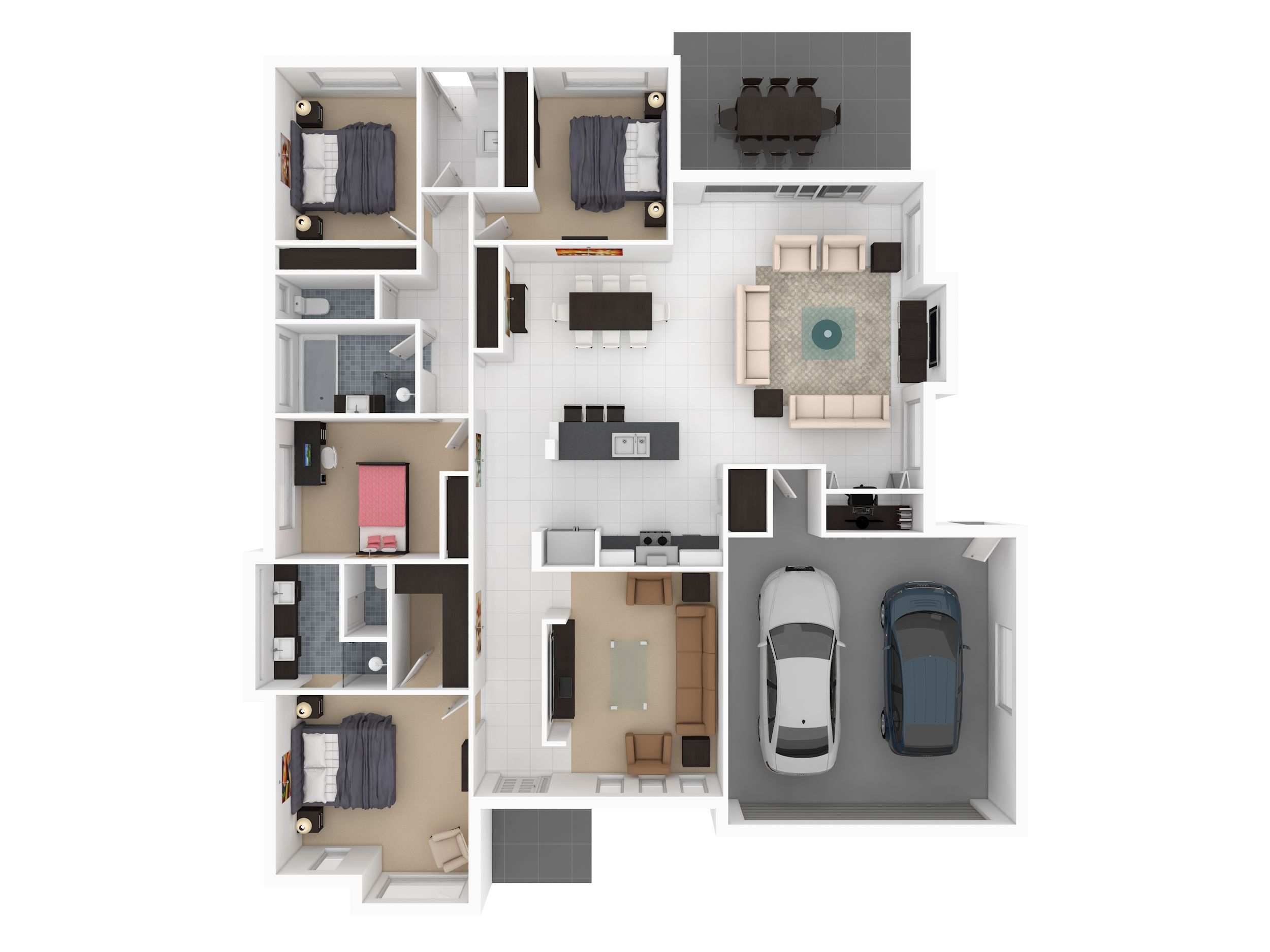 1000+ images about 3D House Plan on Pinterest - ^