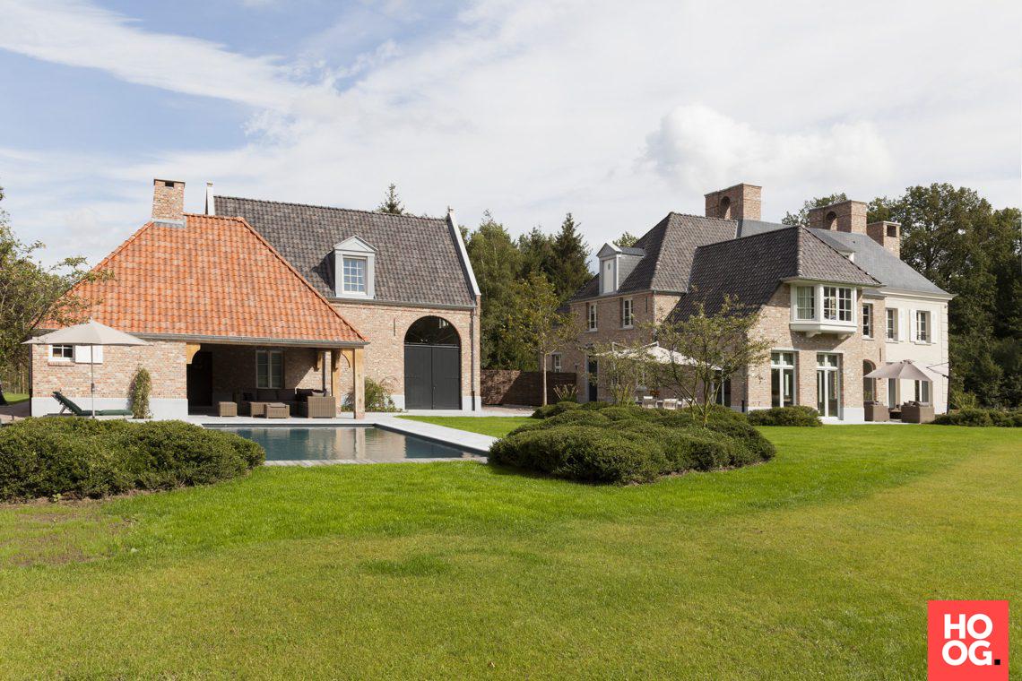 Themenos vlaams landhuis: sels exclusieve villabouw vlaams landhuis