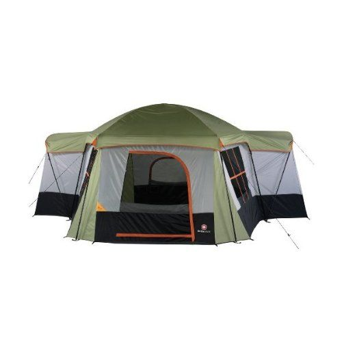 Swiss Gear Elite Series 12 Person Huge Family Dome Camping Tent SG33151 15395