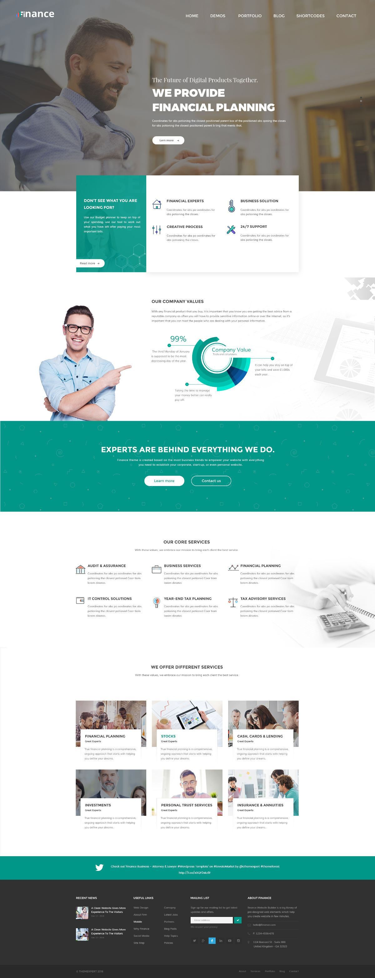 Finance Consulting Business Website Template Psd Ideas For