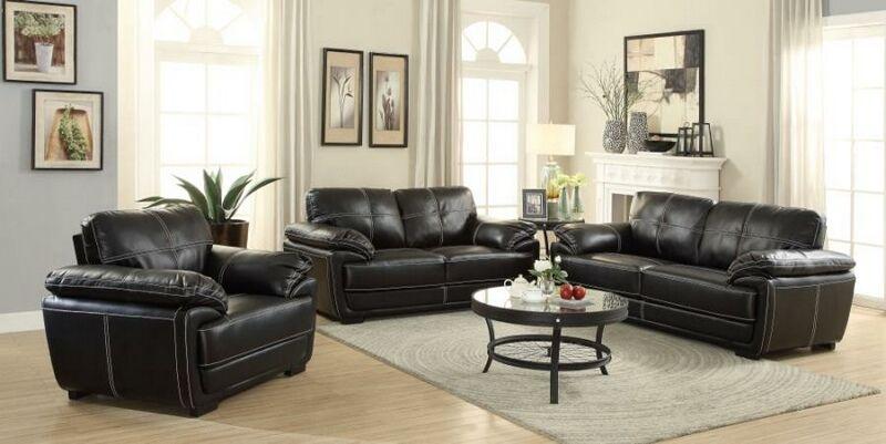 551251 52 2 Pc Zenith Collection Black Breathable Leatherette