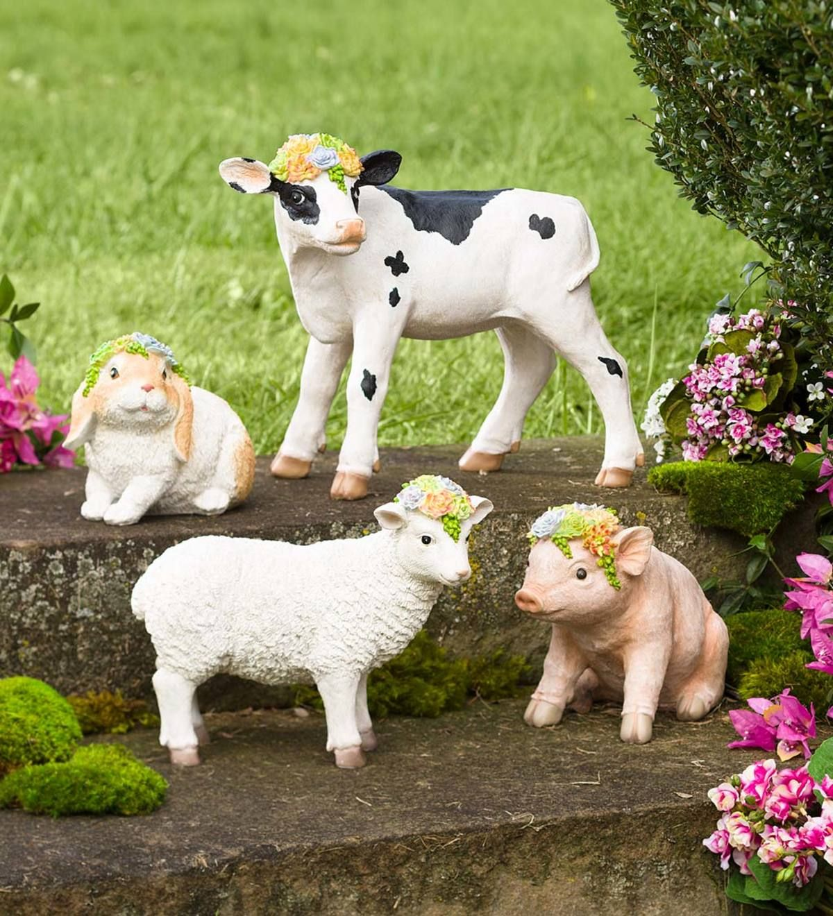 The perfect addition to your flower bed, garden or home