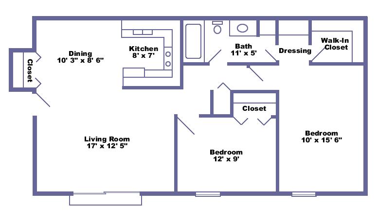 20x50 Metal Building Living Floor Plans