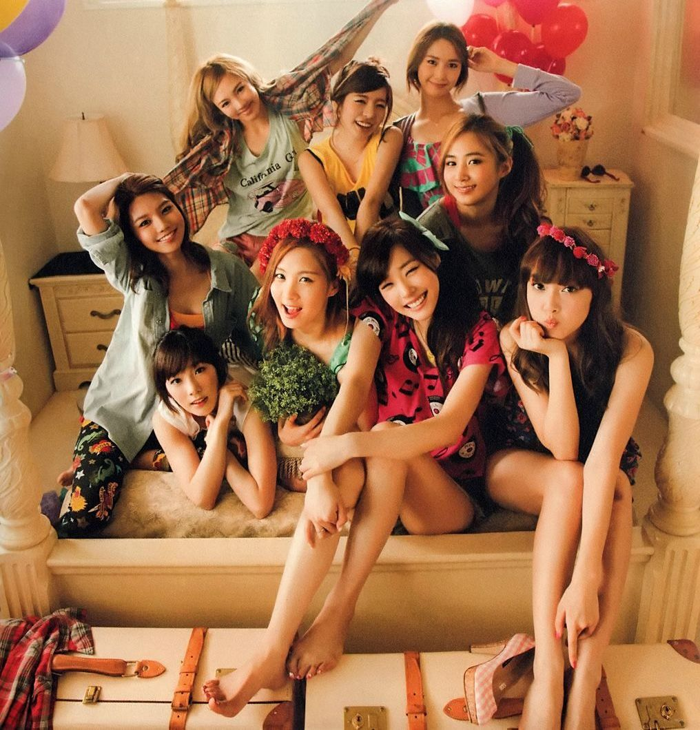 snsd holiday photobook