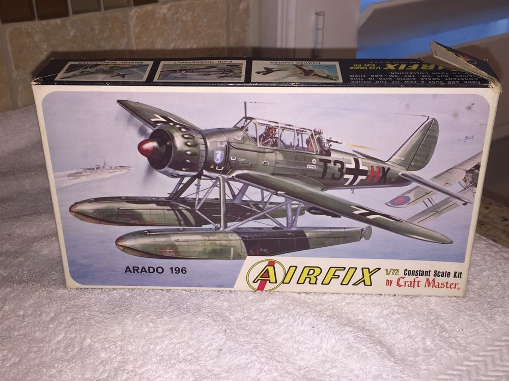 Airfix arado 196 seaplane airplane plastic model - 1 72 scale - how would you weigh a plane without scales